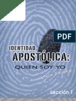 Identidad apostólica