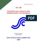 Welding Fatigue Ship Industries