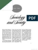 Sociology and Society (Horton & Hunt)