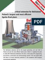 Belchatow Poland Supercritical Steam Coal Power Plant Editorial