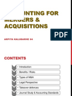Accounting for M&A