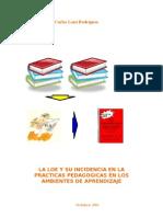Propuesta Para La Fase 3 en Torno a La Loe y Su Incidencia en La Practicas Pedagogicas en Los Amb