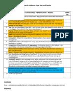 research guidance sheet planetary facs