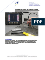 Eddy Current WELD Test
