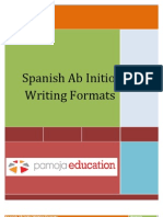 ab initio writing formats