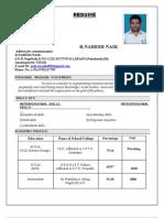 Mtech Resume Naresh
