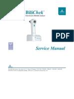 Respironics Bilichek Bilirubin Analyzer - Service Manual