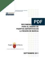83696-Recomendaciones para el diseño de puertos deportivos en la R. Murcia