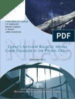 2011 November r 5 Chinas Anti Ship Ballistic Missile Report2