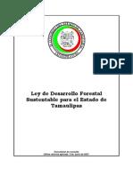 Ley de Desarrollo Forestal Sustentable Para El Estado de Tamaulipas