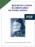 Maria Simma Les Dernic3a8res Rc3a9vc3a9lations