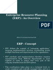 Enterprise Resource Planning - Overview