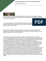 Basilea III Iun Remedio Para La Industria Bancaria en Crisis o Un Nuevo Parche Regulatorio