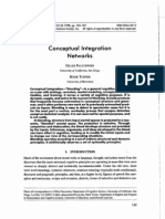 Conceptual Integration Networks Gilles Falconier