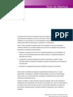 Modelo Avaliação Qualidade - Apoio Domiciliario