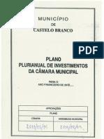Grandes Opções Plano 2012 - CM Castelo Branco