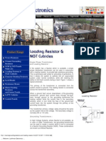 Loading Resistor & NGT Cubicals by Lachhman Electronics