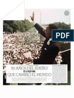 "50 aniversario del discurso ""I have a dream"""