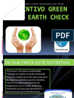 Distintivo Earth Check