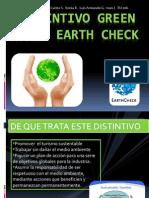 Distintivo Earth Check