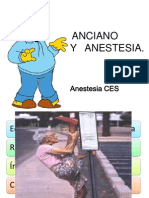 Anciano y Anestesia