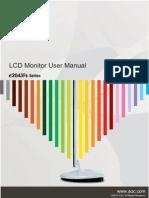 AOC e2043Fsk Manual