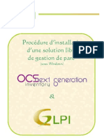 Procedure d Installation de Glpi
