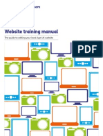 Website Training Manual