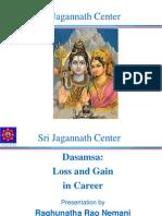Dasamsa-Loss and Gain in Career