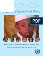 La Infancia y Los Objetivos de Desarrollo Del Milenio