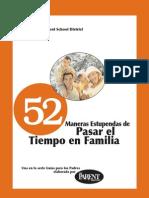 52 Maneras Estupendas de Pasar El Tiempo en Familia