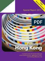 Printing in Hong Kong 2013