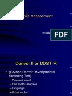 _Denver II Child Assessment ppt