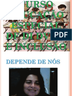 EDUCAÇÃO ESPECIAL DF DI DV DA E INCLUSÃO ESCOLA