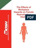 Riesgos de Trabajo en Salud Mujer