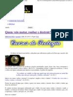 Quem veio matar, roubar e destruir_ _ Portal da Teologia.pdf