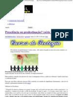 Presciência ou predestinação_ (série curtas – 02) _ Portal da Teologia.pdf