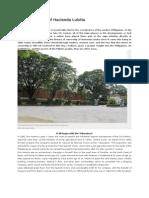 A Short History of Hacienda Luisita