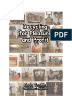 Recycling for Pleasure and Profit by Chris Toombs
