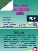 Educación parvularia en Chile