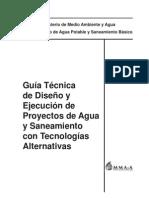 Anexo 1. Guía Tecnica MMAyA (THN y Tubería HDPE)