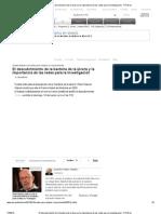 El descubrimiento de la bacteria de la úlcera y la importancia de las redes para la investigación - RTVE