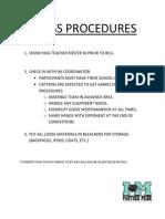 im pass procedures gym