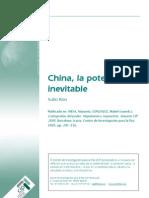 RÍOS, Xulio, China, la potencia inevitable