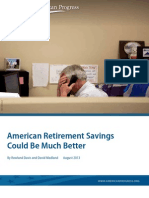 American Retirement Savings Could Be Much Better