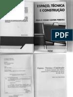 Espaço Técnica e Construção - PCXavier - cap 1 a 3
