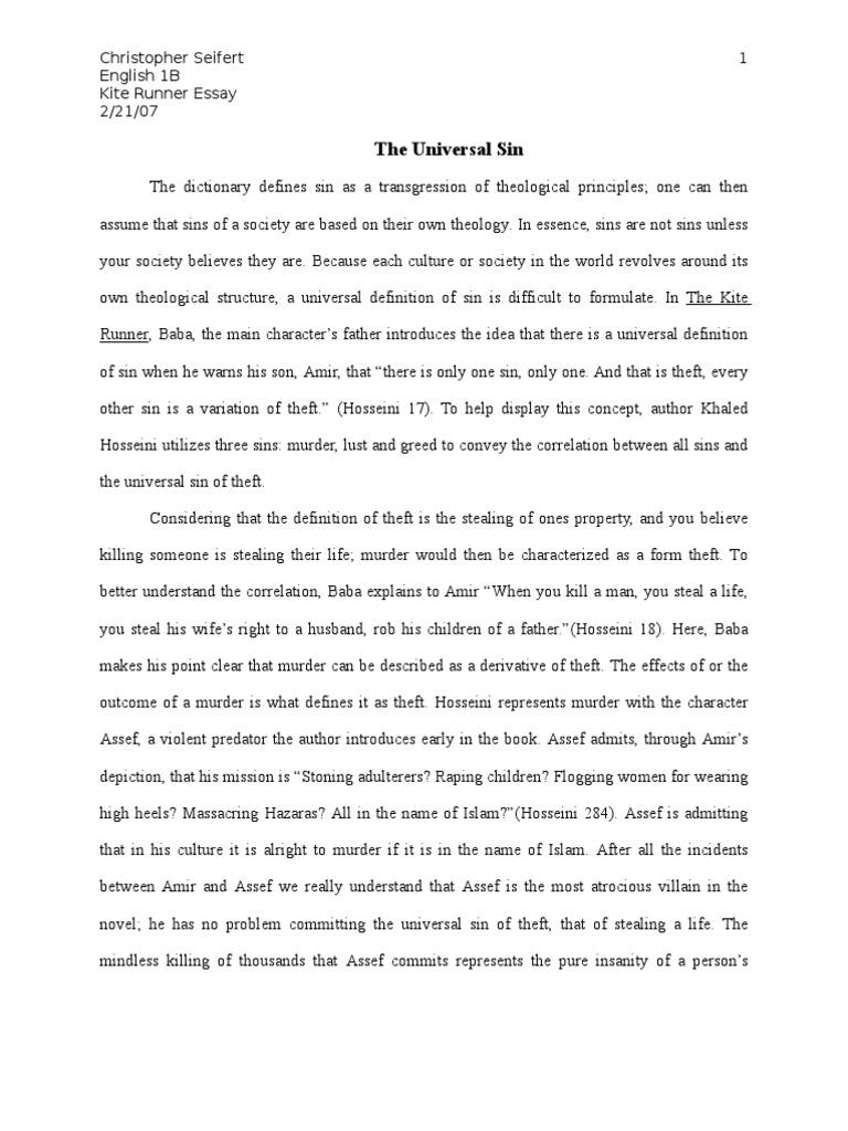 kite runner essay kite runner sparknote kite runner essay kite runner essay recasting baba s experience in america the