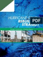 Hurricane Sandy Rebuilding Strategy