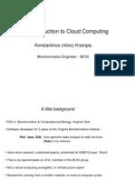 Jcvi Cloud Computing Talk