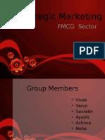 Strategic Marketing - FMCG Sector